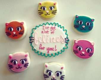 I've got alot of felines for you cookie set
