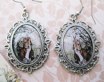 Bunny Rabbit  Earrings C179