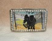 Rocky Mountain Elephant Belt Buckle