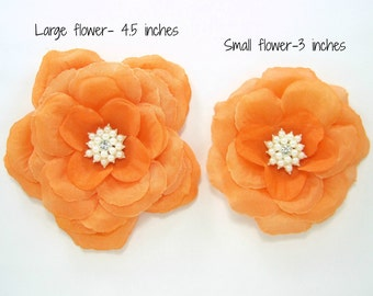 Orange Dog Flower ,Dog Flower Accessory