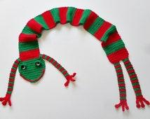 Crochet / Frog Scarf