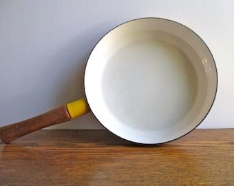 Vintage Dansk Yellow Frying Pan