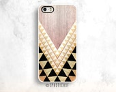 Tribal iPhone 6S Case, iPhone 5S Case, Geometric Wood iPhone 5 Case, iPhone 6 Case Wood, iPhone 6 Plus Case, iPhone 5S Case, iPhone 4