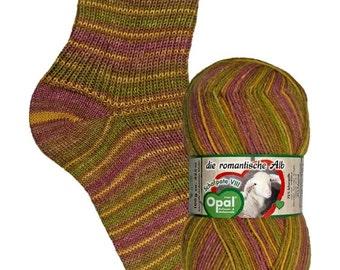 Opal 4ply sock yarn - Shafpate VIII Shade 9203 'Playground' 100g