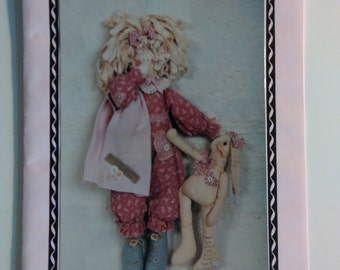 Tao & Her Weary Raggit - Doll Pattern by The NumbThimble Pattern Co.