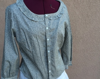 Old style Western blouse