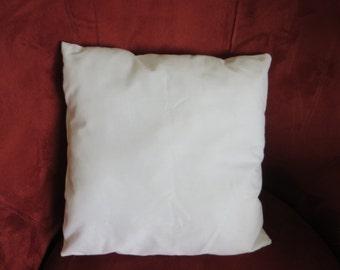Cushion form, pillow form
