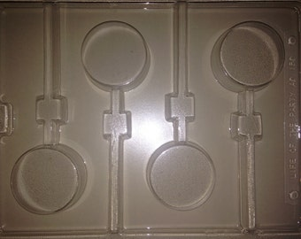 AO150 - Chocolate Covered Cookie Lollipop Mold