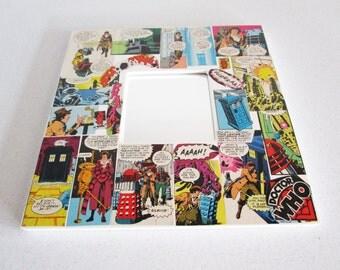 Doctor Who Tom Baker Dalek Tardis Vintage Comic Mirror! 10x10