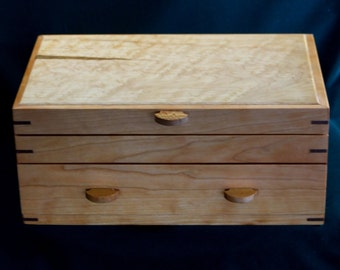 CHERRY JEWELRY BOX - Wood Jewelry Box