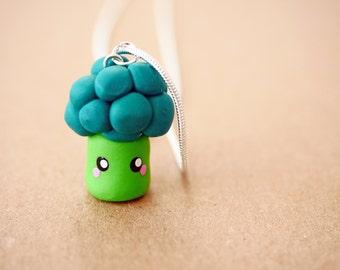 Super kawaii broccoli necklace