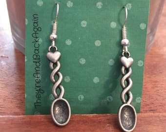 Silver Spoon Earrings