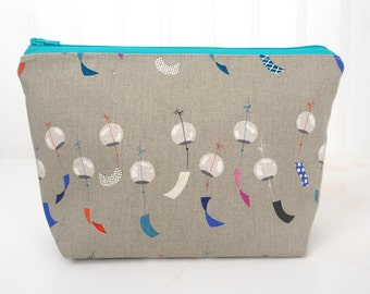 Large Zipper Pouch - Chimes