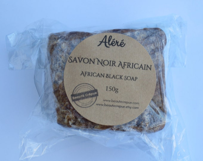 African Black Soap - 100% Natural and Vegetal
