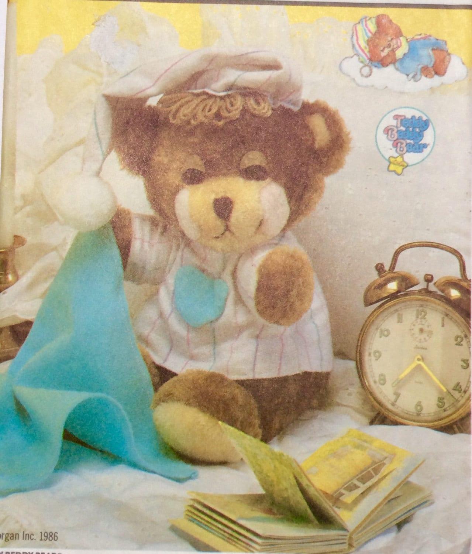 Simplicity 7637 Teddy Bear Pattern Teddy Beddy Bear With