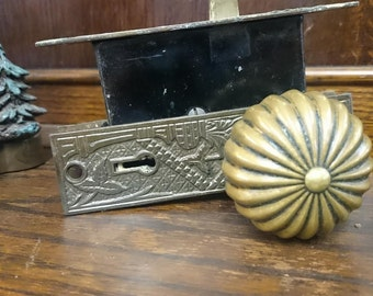 Beautiful Antique Door knob and Ornate hardware