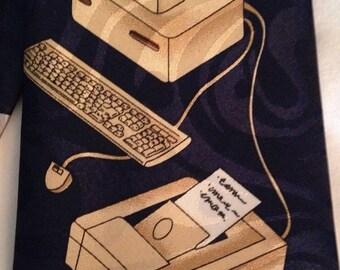 Renaissance Vintage Computers Necktie