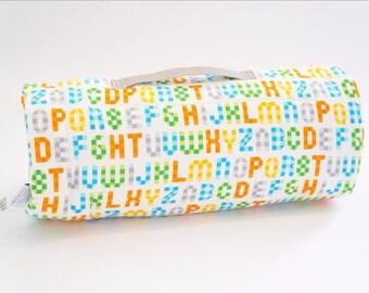 Organic Nap Mat - Alphabet