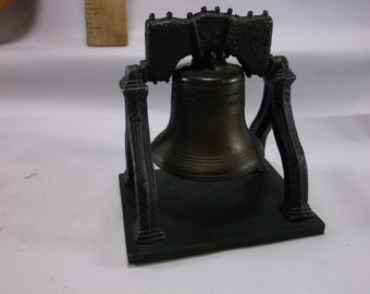 Liberty Bell Desktop Decorative Replica Made by Penncraft Office Desk Paperwight Decor.epsteam
