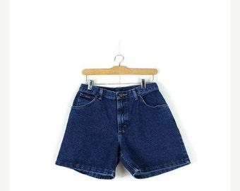 SUMMER SALE Free Shipping!! Vintage Wrangler Blue  Denim  Shorts from 90's*
