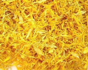 5 Cups CALENDULA PETALS, No Stems, Just Petals, // PREMIUM Dried Calendula Flower, Calendula Soap, Calendula Oil, Calendula Salve