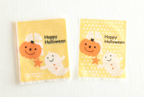 Halloween Cellophane Treat Bags 25 Count