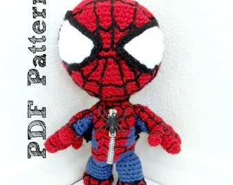 Spiderman Sackboy Amigurumi PDF Pattern