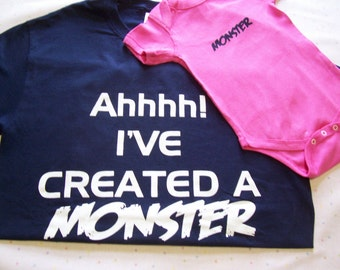 Dad & Baby Girl  Shirt ~ Dad Shirt ~ Father and Daughter Shirts ~ Matching Shirts ~ Dad and Me Shirt~ Dad Gift ~  Dad and Daughter Shirt