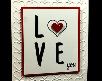 Anniversary, Love, Just Because, Mother's Day, Father's Day, Valentine's Day Greeting Card