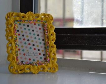 Kawaii sprinkle frame