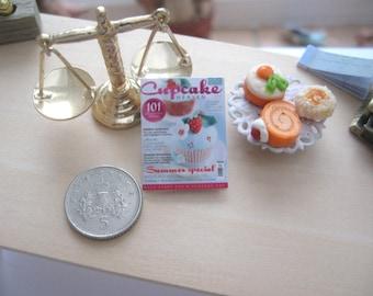 dollhouse magazine  cupcake 12th scale miniature