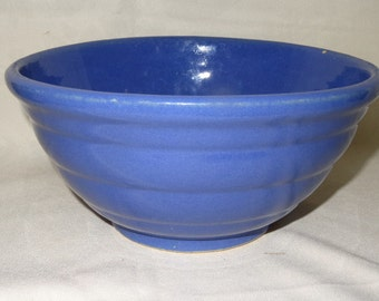 Bauer Beehive Blue Bowl
