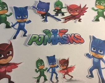 PJ Masks Die Cuts Qty 10