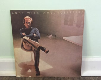 "Andy Williams ""Solitaire"" vinyl record"