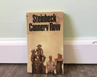 happiness and the people of cannery row by john steinbeck About cannery row steinbeck's tough yet charming portrait of people on the margins of society, dependant on one another for both physical and emotional survival.
