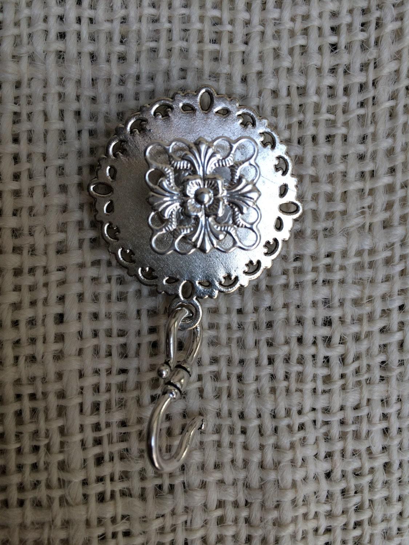 Knitting Pin Kaleidoscope  C - Magnetic Knitting Pin for Portuguese Knitting -