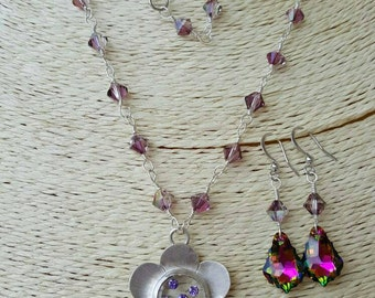 Swarovski and Sterling Silver