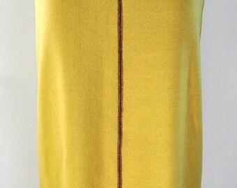 Dijon long bustle skirt