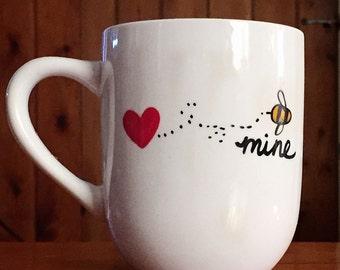 Bee Mine-Coffee Mug