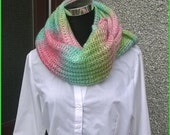 15 off free shiping to UKhand made snood scarf.Long snooddecorative infinity scarfsnood.Made in Shetland.