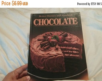 On Sale 1984 Better Homes and Gardens Chocolate Hard Back Cook Book Vintage Kitchen