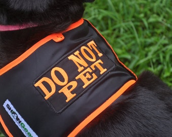 Dog Vest  DO NOT PET Alert Vest
