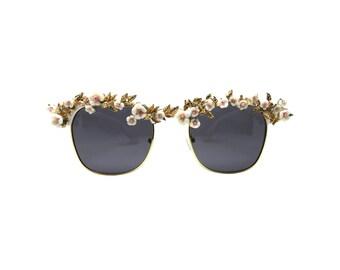 Women's Club Master Style Statement Sunglasses - PHLOX