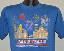 Popular items for nashville music city on etsy for Nashville t shirt printing