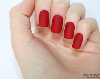 matte burgundy short square nails nail designs nail art