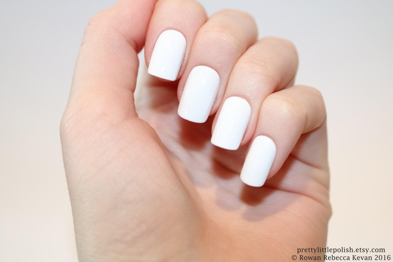 White short square nails, Nail designs, Nail art, Nails ...