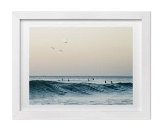 "Surf Photography, Landscape Photography, Beach Print, Ocean Art, Ocean Photography, Costa Rica Art, Beach Art, ""Waiting for the Wave"""