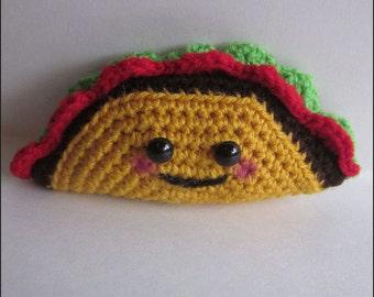Crochet Pattern - Happy Little Taco