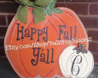 Blank DIY wooden pumpkin
