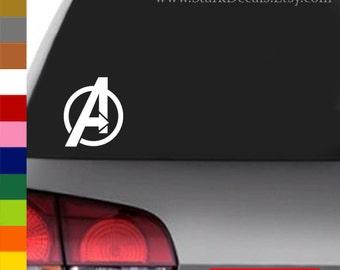 Avengers Logo Inspired Decal